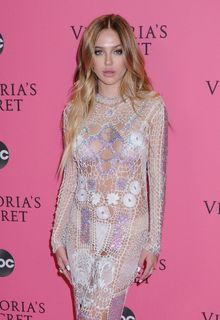 Delilah Belle Hamlin in see through dress with pasties
