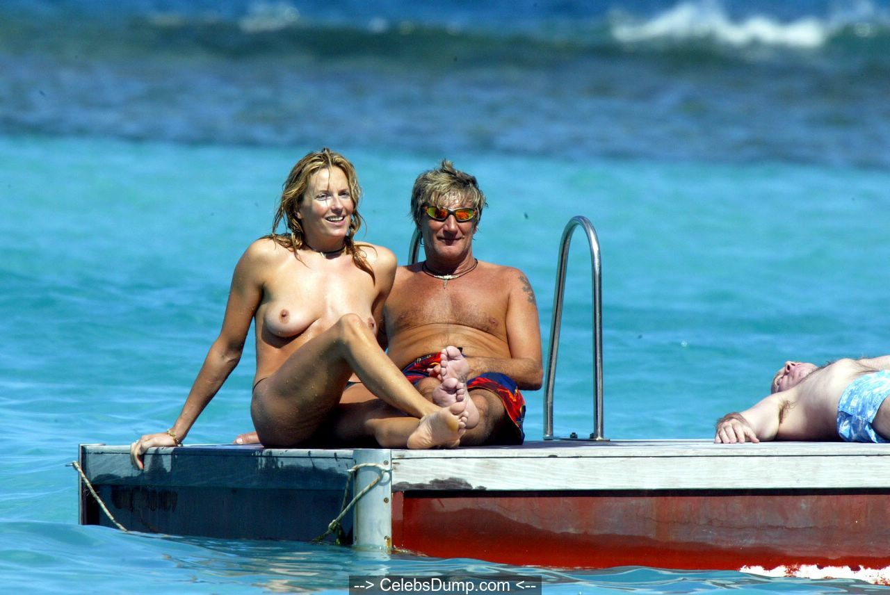 Penny Lancaster Nude, Topless And Sexy