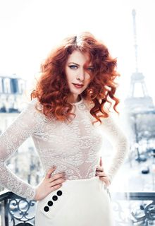 Rachelle Lefevre sexy for CBS Watch Magazine, August 2015