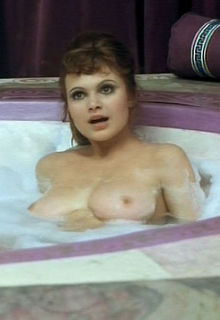Madeline Smith nude in a bathtub