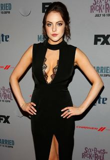 Elizabeth Gillies at Sex & Drugs & Rock & Roll premiere in NY - July 14, 2015