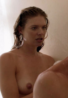 Kate Miner naked in a shower movie scenes