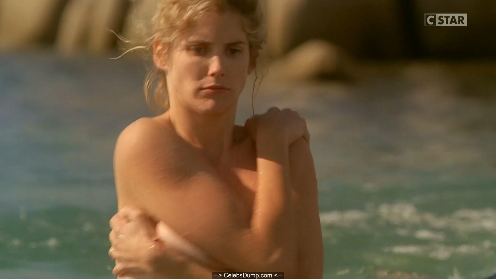 Alice taglioni nude in a water scenes