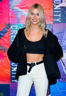 Blonde Lena Gercke at Tommy Hilfiger Event in Berlin - March 07, 2019