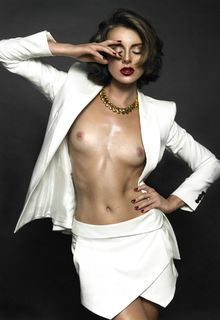 Diana Georgie - Melis & Dainon topless photoshoot, June 2013