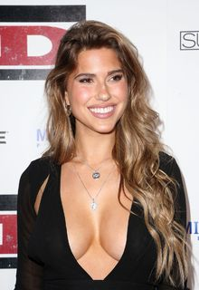 Kara Del Toro in low cut dress at premiere of Lionsgate's ''The Kid'' in Hollywood - March 06, 22019