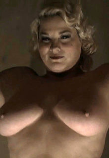 Blonde Cynthia Ettinger nude boobs in Carnivale S02 E08 (2005)