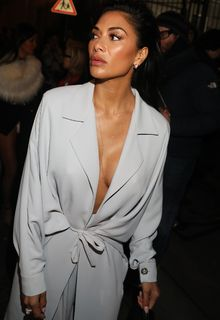 Nicole Scherzinger leaves the Hermes show at Paris Fashion Week - March 03, 2018
