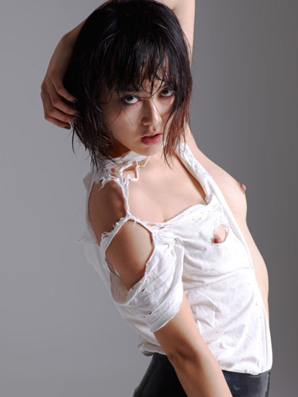 Rinko kikuchi asian boobs