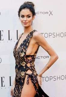 Nicole Trunfio legs and sideboob at Elle Style Awards in Sydney - October 29, 2015