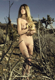 Cynda Mcelvana fully nude in nature by Pola Esther photoshoot 2019