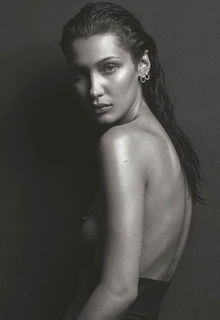 Bella Hadid sexy and topless for V Magazine - March 2017
