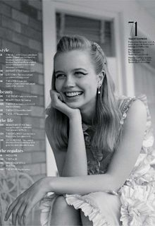 Angourie Rice for InStyle Magazine, Australia - May 2019