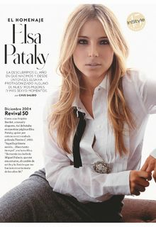 Elsa Pataky for InStyle Magazine, Espana - May 2019