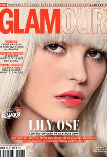 Lily-Rose Deep for Glamour Magazine, France - April/May 2019