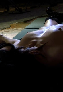 Elissa Dowling and Carrie Hayes topless in Caller ID: Entity (2010)