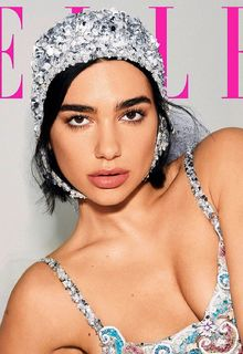 Dua Lipa sexy for Elle Magazine photoshoot by Carin Backoff - May 2019
