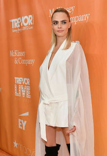 Cara Delevingne at 2019 TrevorLIVE New York Gala in New York City - June 17, 2019