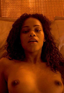 Ebony actress Loreece Harrison nude in Black Mirror s03e05 (2016)