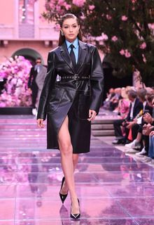 Gigi Hadid runway at Versace fashion show SS 2020 in Milan - June 15, 2019