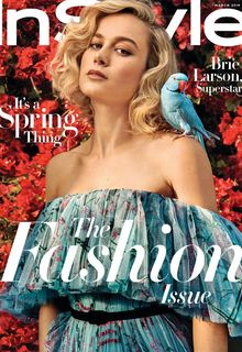 Brie Larson sexy for InStyle Magazine - March 2019 by Pamela Hanson
