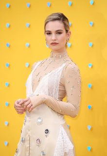 Lily James at Yesterday premiere in London - June 18, 2019