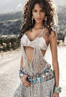 Noemie Lenoir sexy for French Revue De Modes - Spring 2011