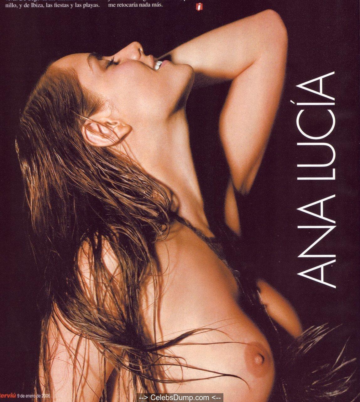 Ana Lucia Desnuda ana lucia dominguez nude boobs and ass for interviu magazine