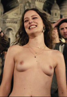 French actress Stephane Caillard nude at Bastille Day (2016)