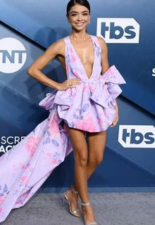 Sarah Hyland sexy legs at 26th Annual SAG Awards at the Shrine Auditorium in Los Angeles - January 19, 2020
