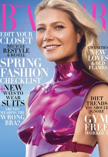 Gwyneth Paltrow sexy for Harper's Bazaar magazine, US - February 2020