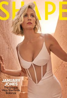 January Jones sexy for Shape Magazine - March 2020