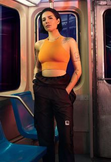 American singer and songwriter Halsey sexy for DKNY Spring 2020 Campaign