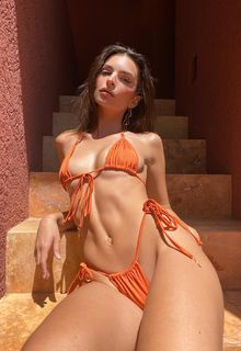 Emily Ratajkowski sexy for Inamorata Swim - July/August 2020
