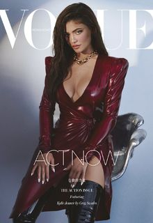 Kylie Jenner sexy for Vogue Magazine, Hong Kong - August 2020