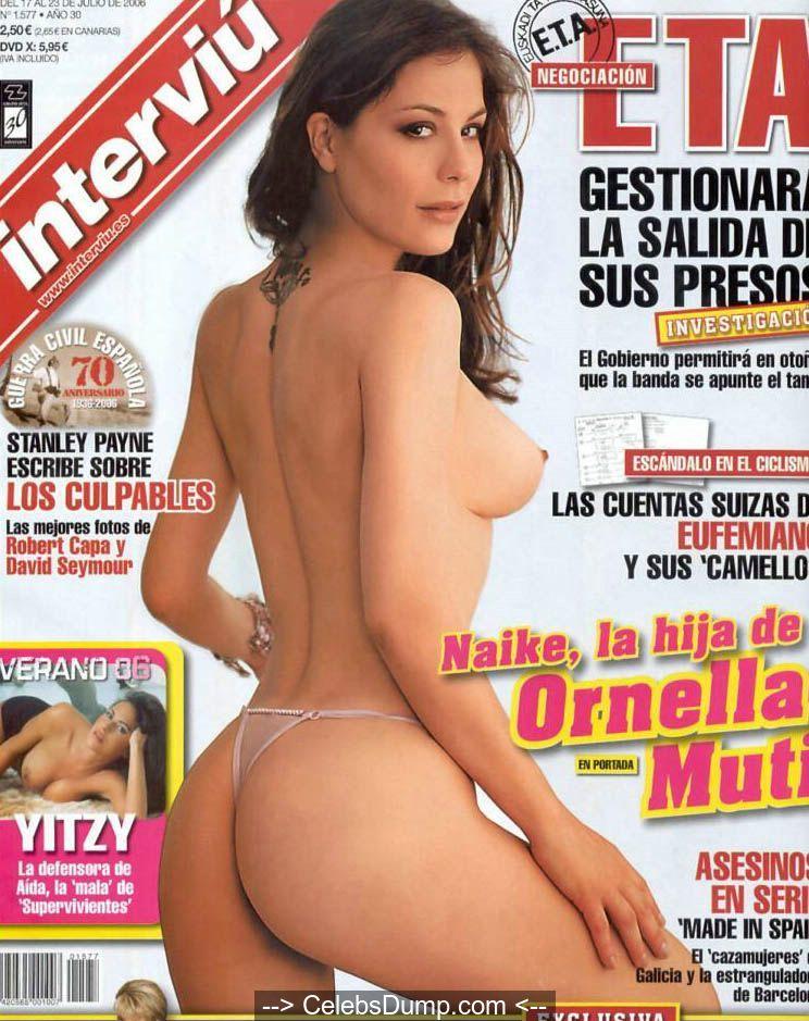 Nackt Naike Rivelli  Naike Rivelli:私は裸であるのが大好きです