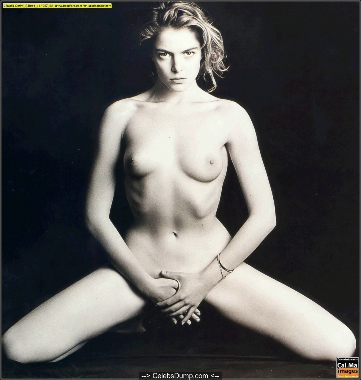 Claudia Gerini  nackt