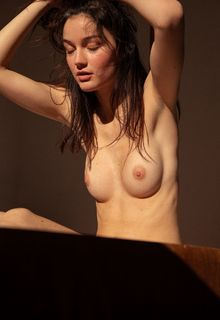 Chloe Bechini topless and fully nude by Servan Ilyne